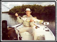 Here's a typical snook taken on fly.